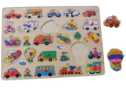 Picture of Puzzle, Vehicles