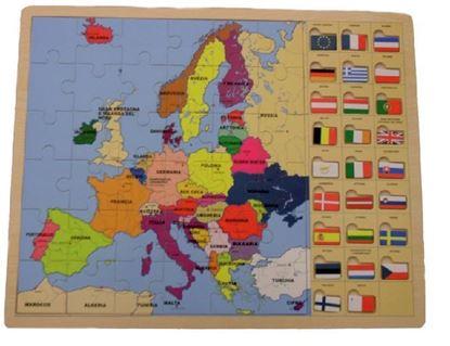 Image de L'Europa e le sue bandiere
