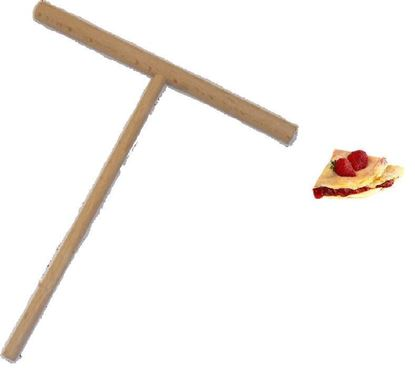 Picture of wooden tool for Crepes