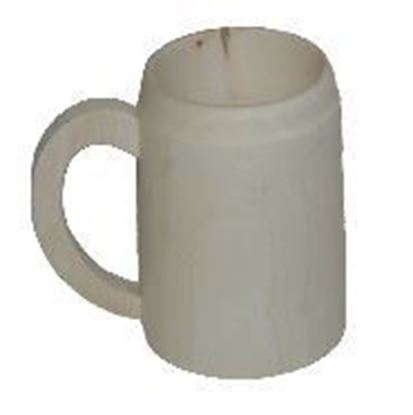 Picture of  mug  in evaporated wood