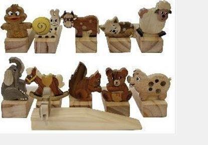 Immagine di Fermaporta in legno